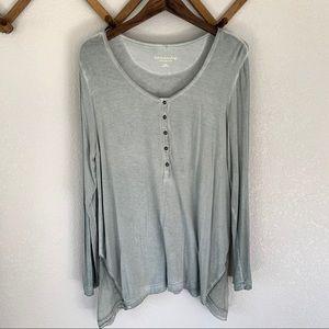 Soft Surroundings Long Sleeve Blouse